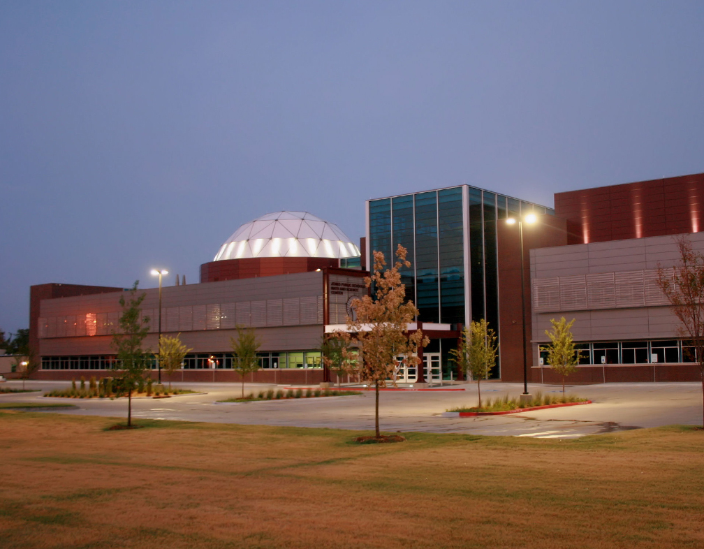 Jenks Math and Science Building Image