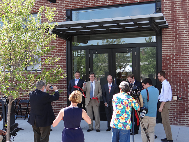 Philbrook Downtown Tulsa Ribbon Cutting 6-13-13