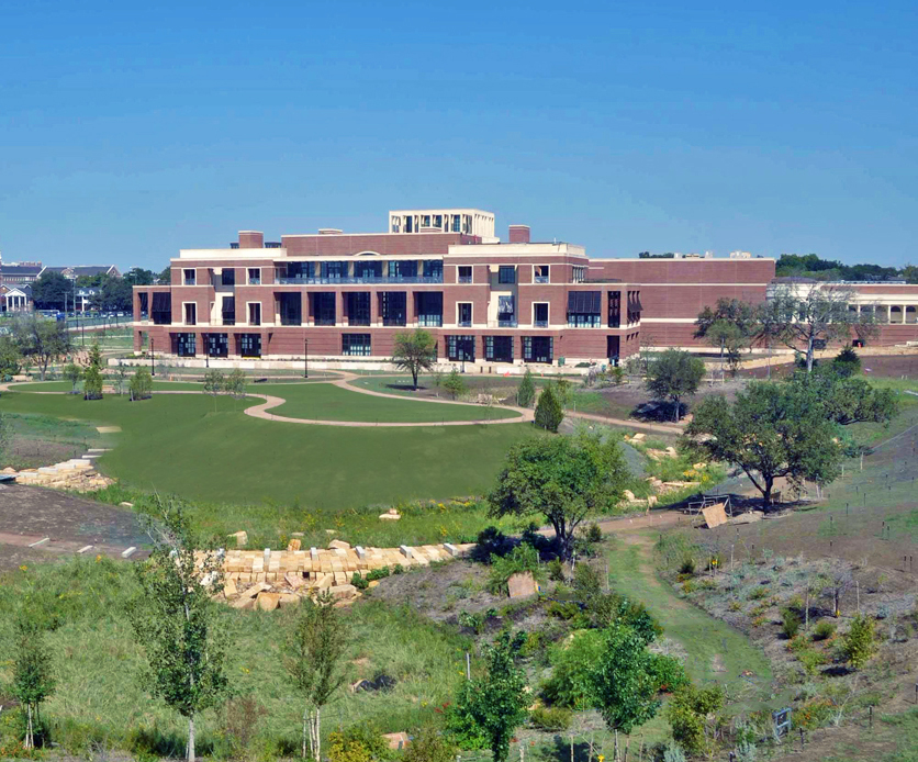George W. Bush Presidential Center Built By Manhattan Construction