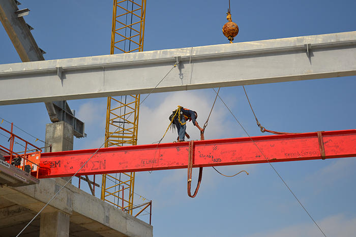 University of Houston Stadium Topping Out Ceremony