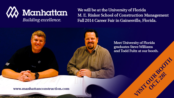 University of Florida Career Fair Oct 28