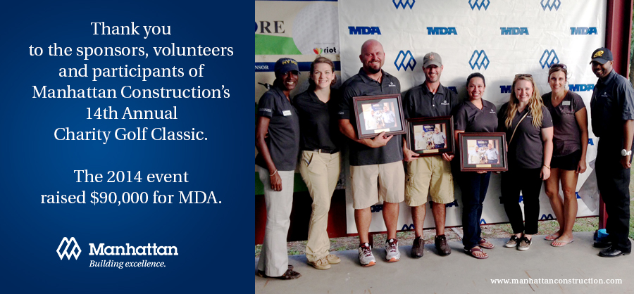 Manhattan event raises 90k dollars for MDA