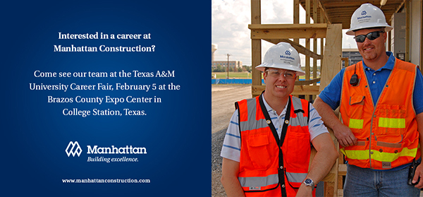 Texas A&M Career Fair Feb 5