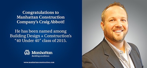 Manhattan's Craig Abbott Honored